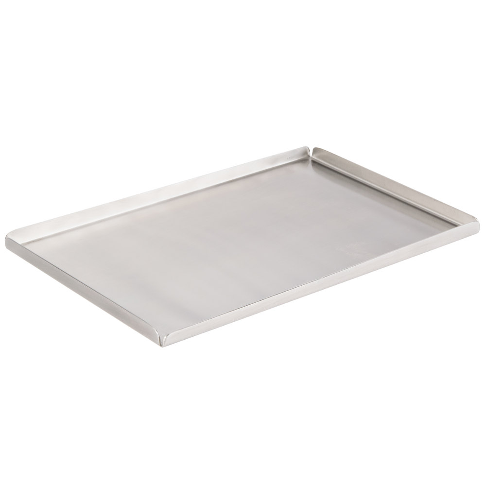 american metalcraft st  x   satin finish stainless steel  -  stainless steel tray main picture image preview