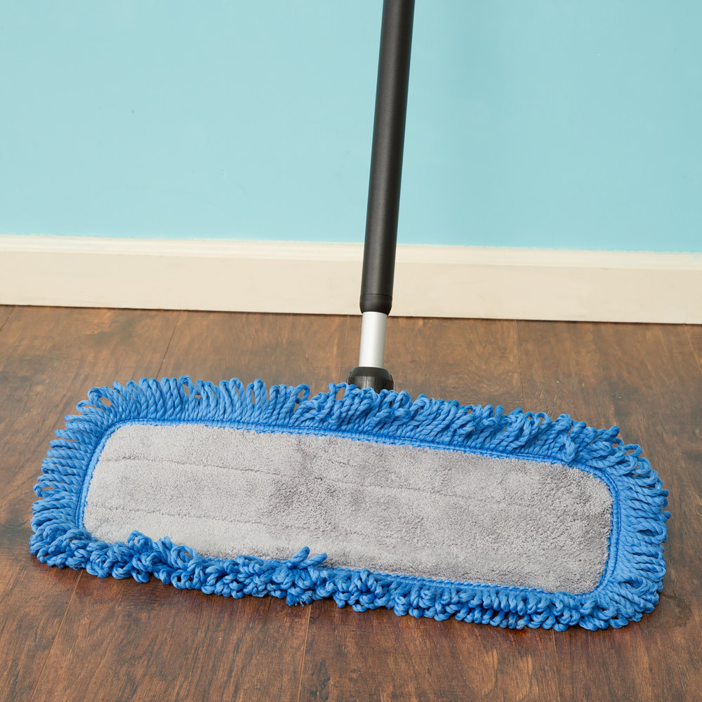18 Quot Microfiber Mop Kit With Wet And Dry Pads