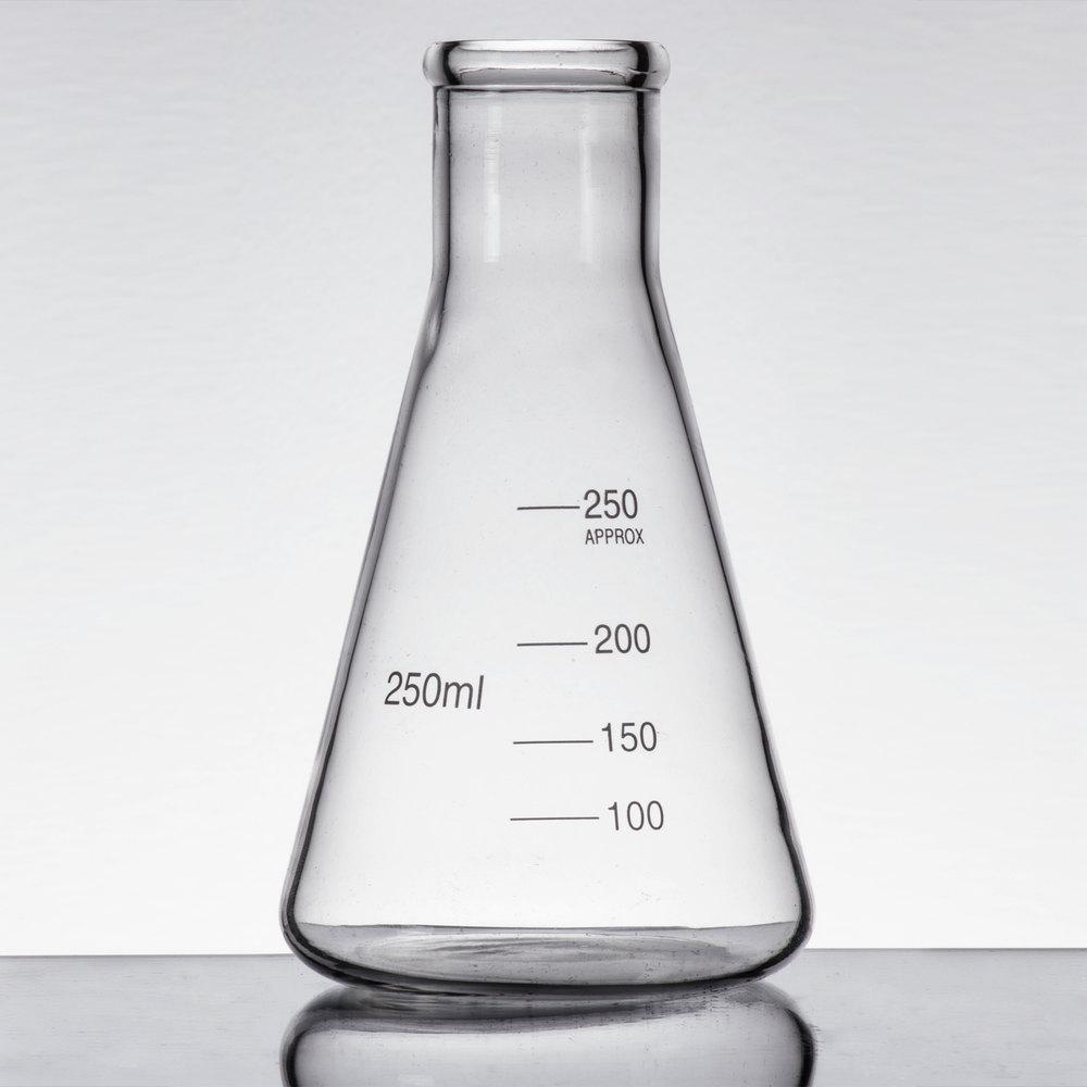 Libbey 56808 Chemistry Bar 8.5 oz. (250 mL) Erlenmeyer ...