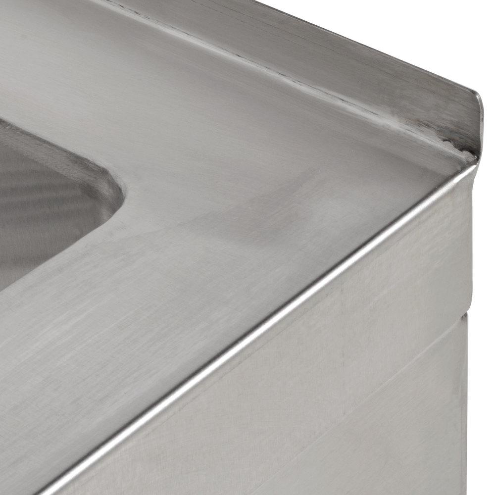 Stainless Steel Mop Sink : Regency 25