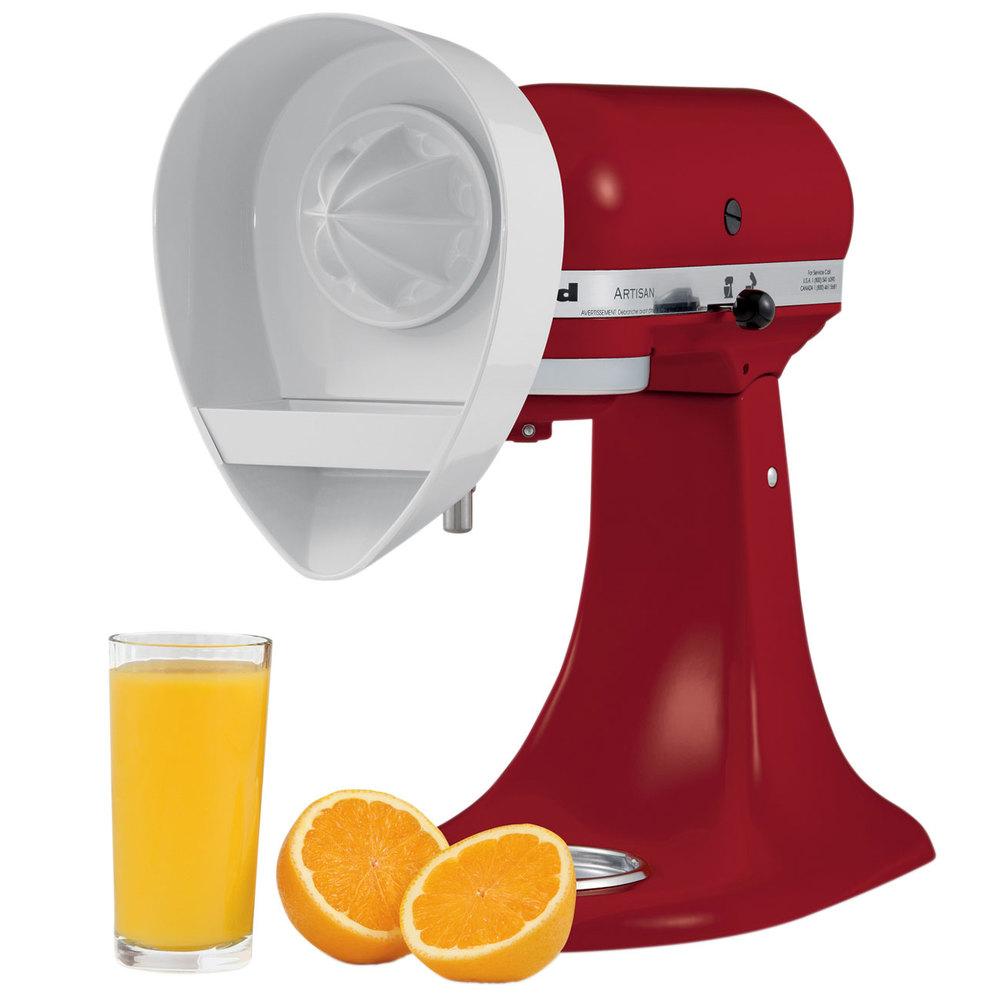 Kitchenaid Juicer Attachments kitchenaid je citrus juicer attachment for kitchenaid stand mixers