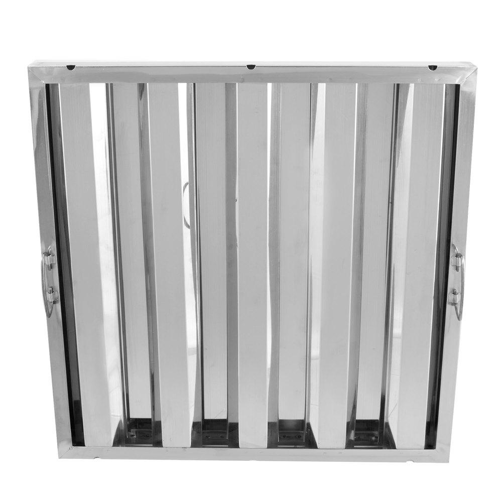 Regency 20 inch x 20 inch x 2 inch Stainless Steel Hood Filter