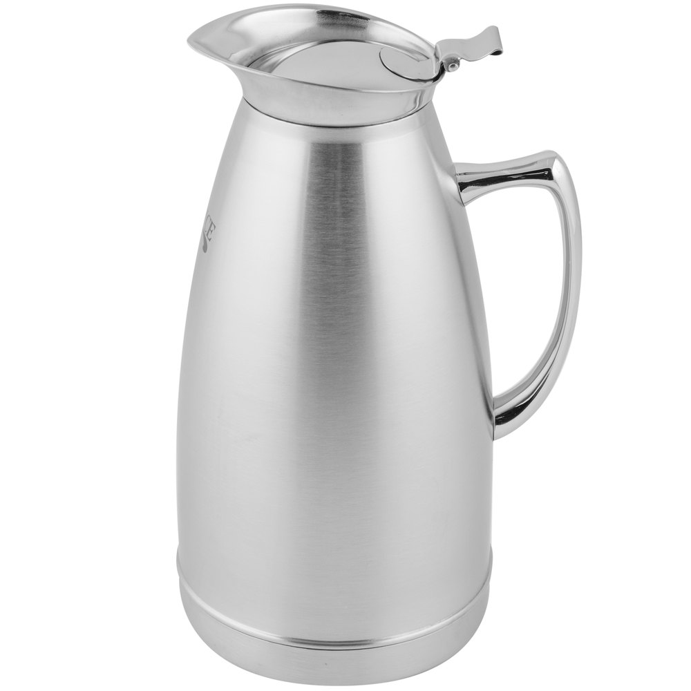 choice  oz stainless steel thermal beverage server - stainless steel thermal beverage server main picture image preview imagepreview