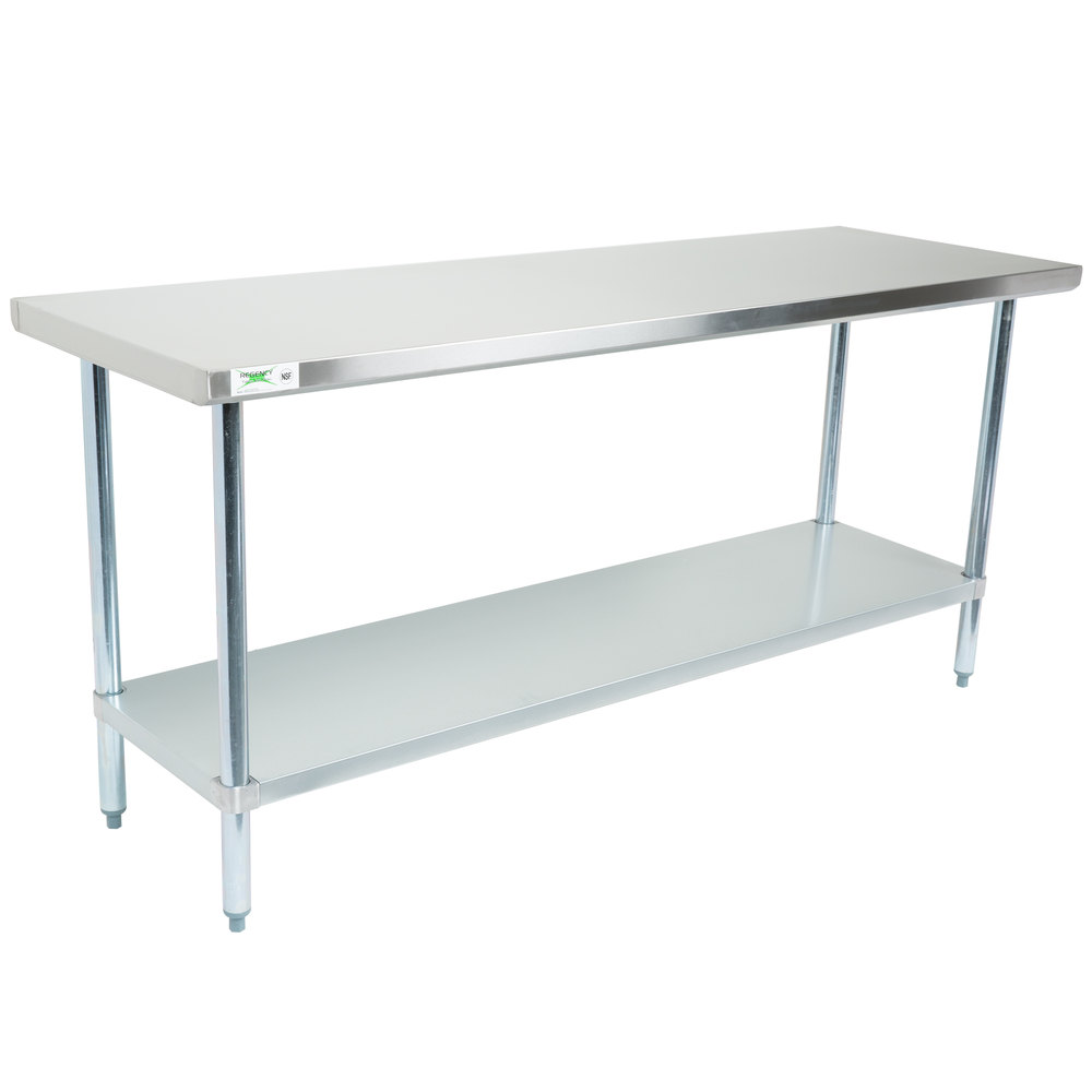 TG Regency - 8 ft stainless steel work table
