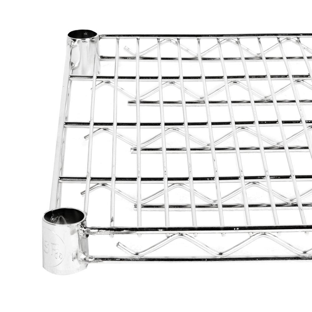 Regency 14 inch x 24 inch NSF Stainless Steel Wire Shelf