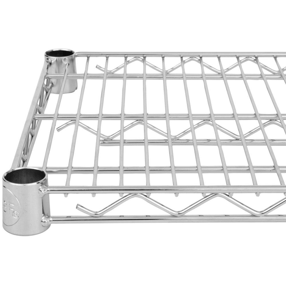 Regency 14 inch x 48 inch NSF Stainless Steel Wire Shelf