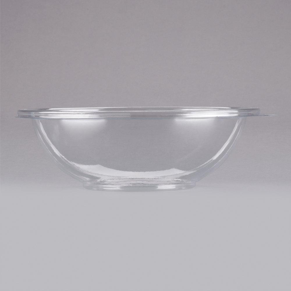 fineline super bowl 5064 cl 64 oz clear plastic bowl 5 pack. Black Bedroom Furniture Sets. Home Design Ideas