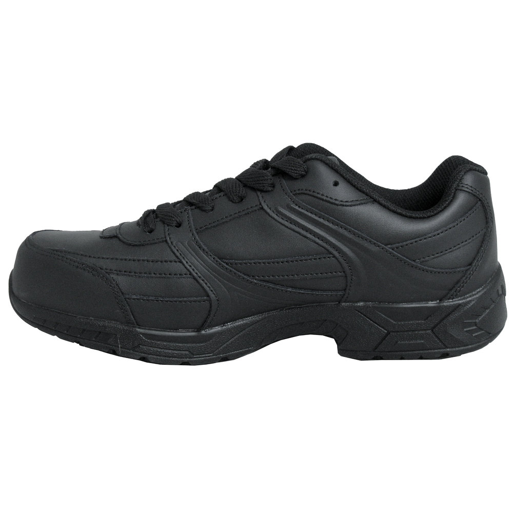 genuine grip 1110 s size 6 wide width black leather