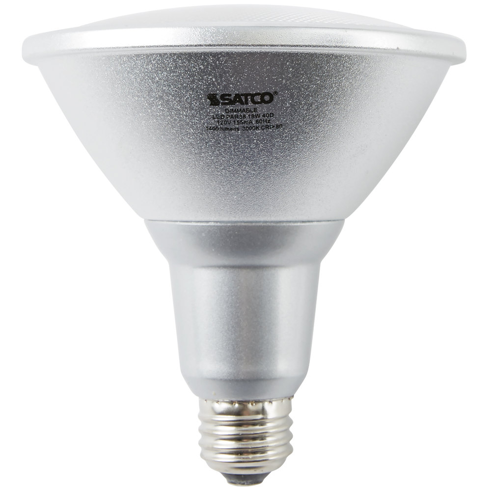 Indoor Led Light Bulbs: Satco S9455 18 Watt (100 Watt Equivalent) Warm White