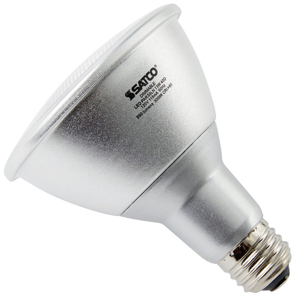 Satco S9431 13 Watt 75 Watt Equivalent Warm White Indoor Outdoor Long Neck Led Reflector Light