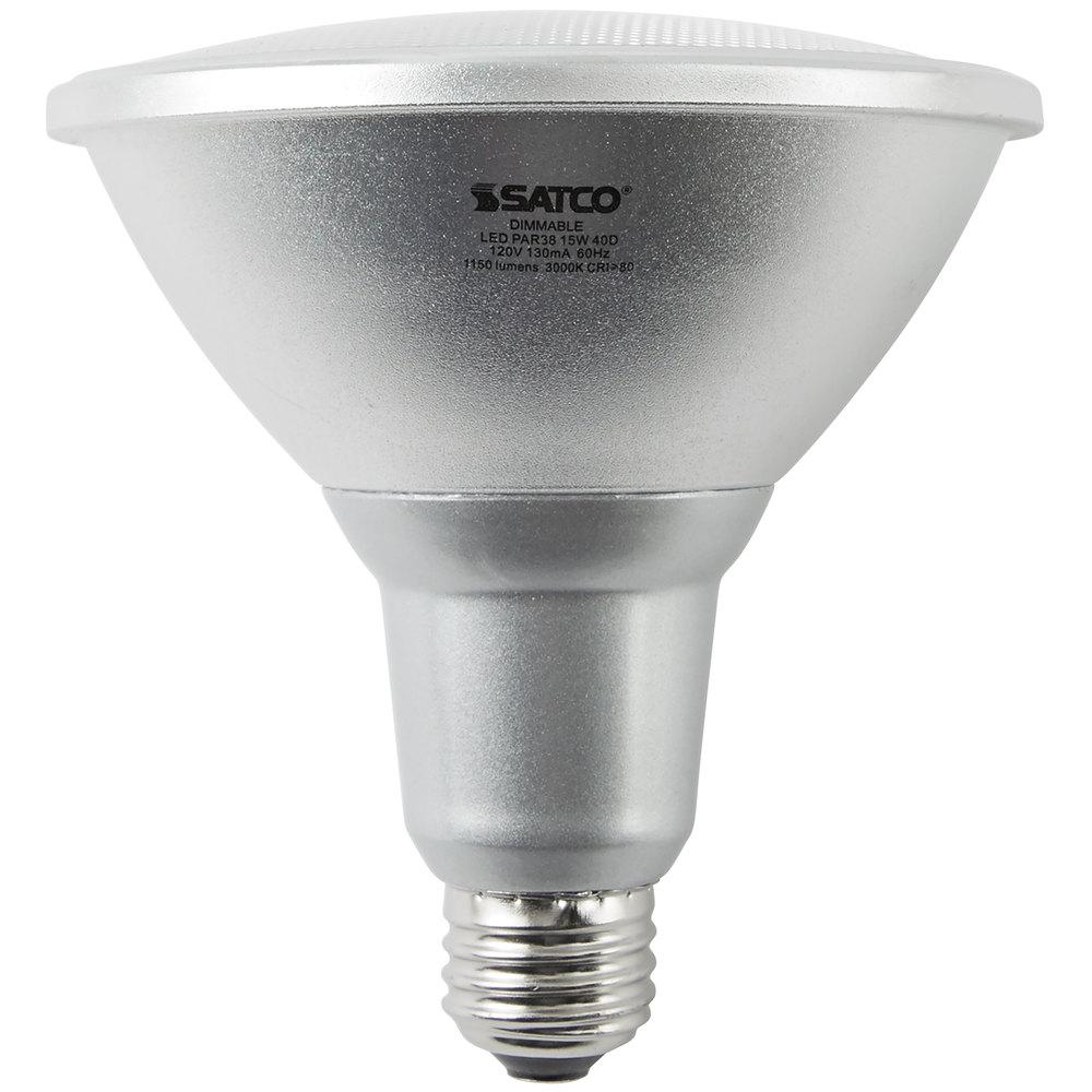Satco S9446 15 Watt (90 Watt Equivalent) Warm White Indoor ...