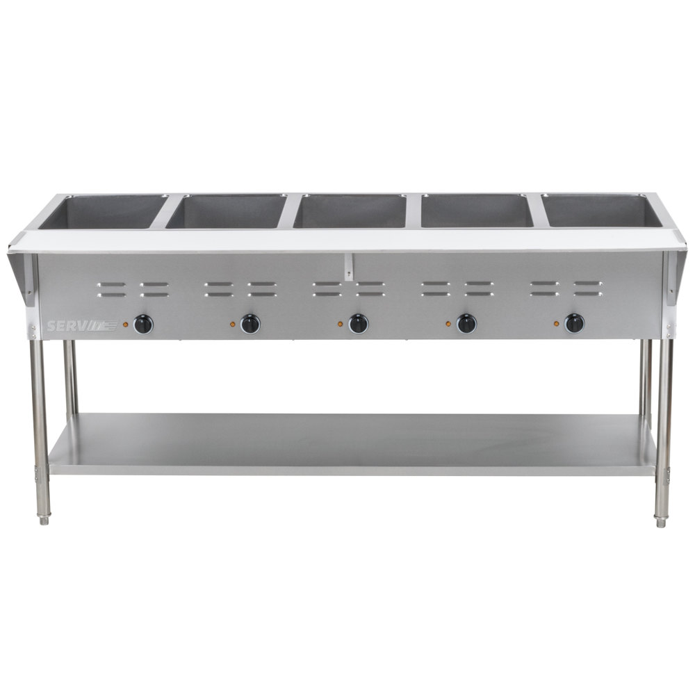 Steam Tables Electric Steam Table - 3 bay electric steam table