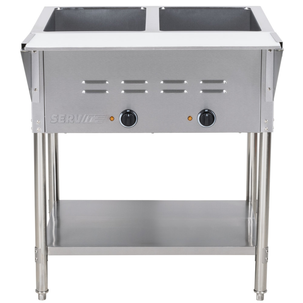 Steam Tables Electric Steam Table - Cafeteria steam table