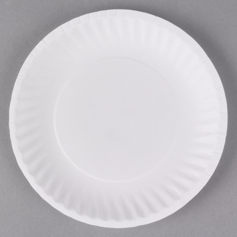 6 inch White Uncoated Paper Plate - 1000/Case ...  sc 1 st  WebstaurantStore & Paper Plate Holders - WebstaurantStore