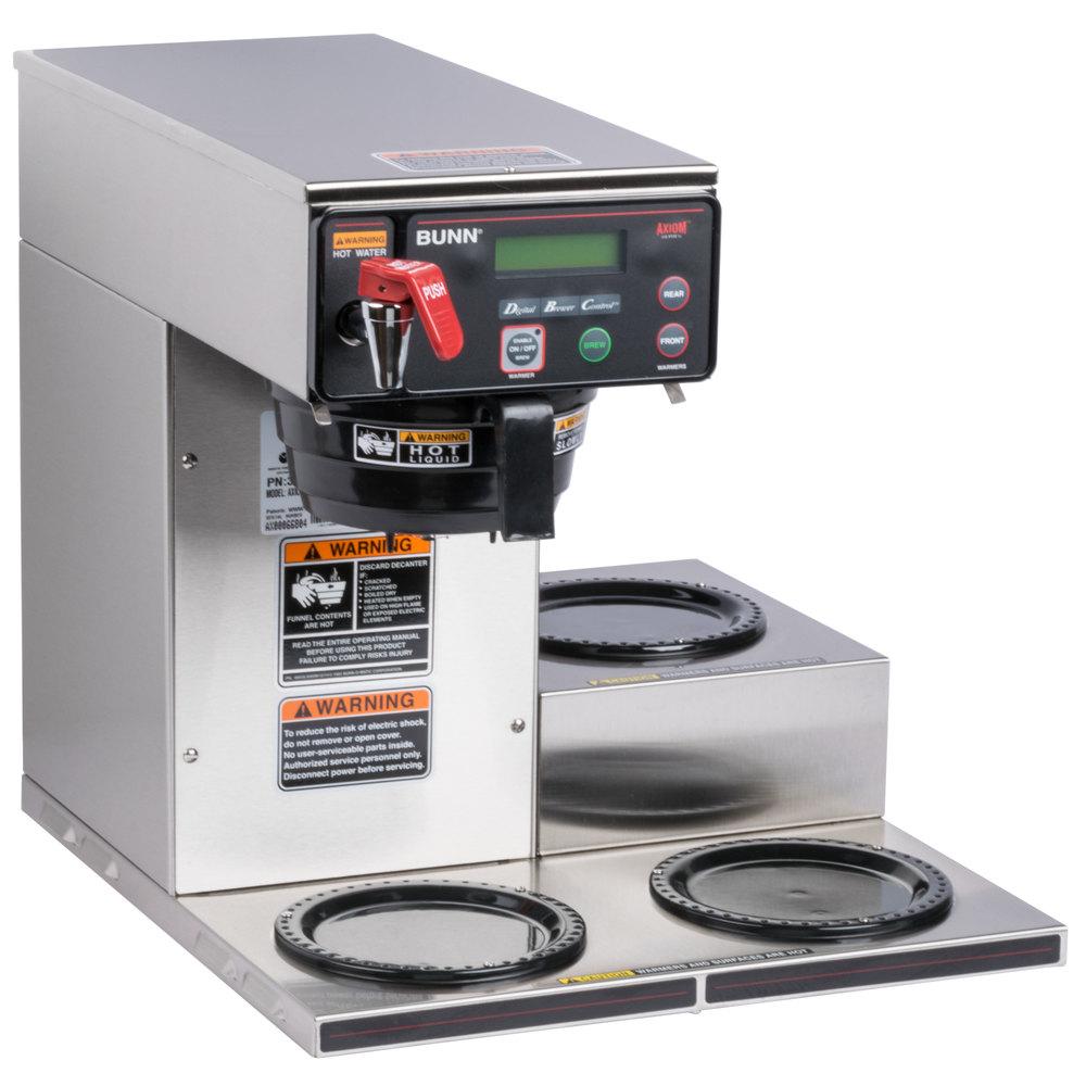 Bunn Coffee Maker Vlpf Series : Bunn Coffee Maker 12 Cup Model Vpr Works Great. Bunn Tb6 Dual Twin 3 Gallon Commercial Iced Tea ...
