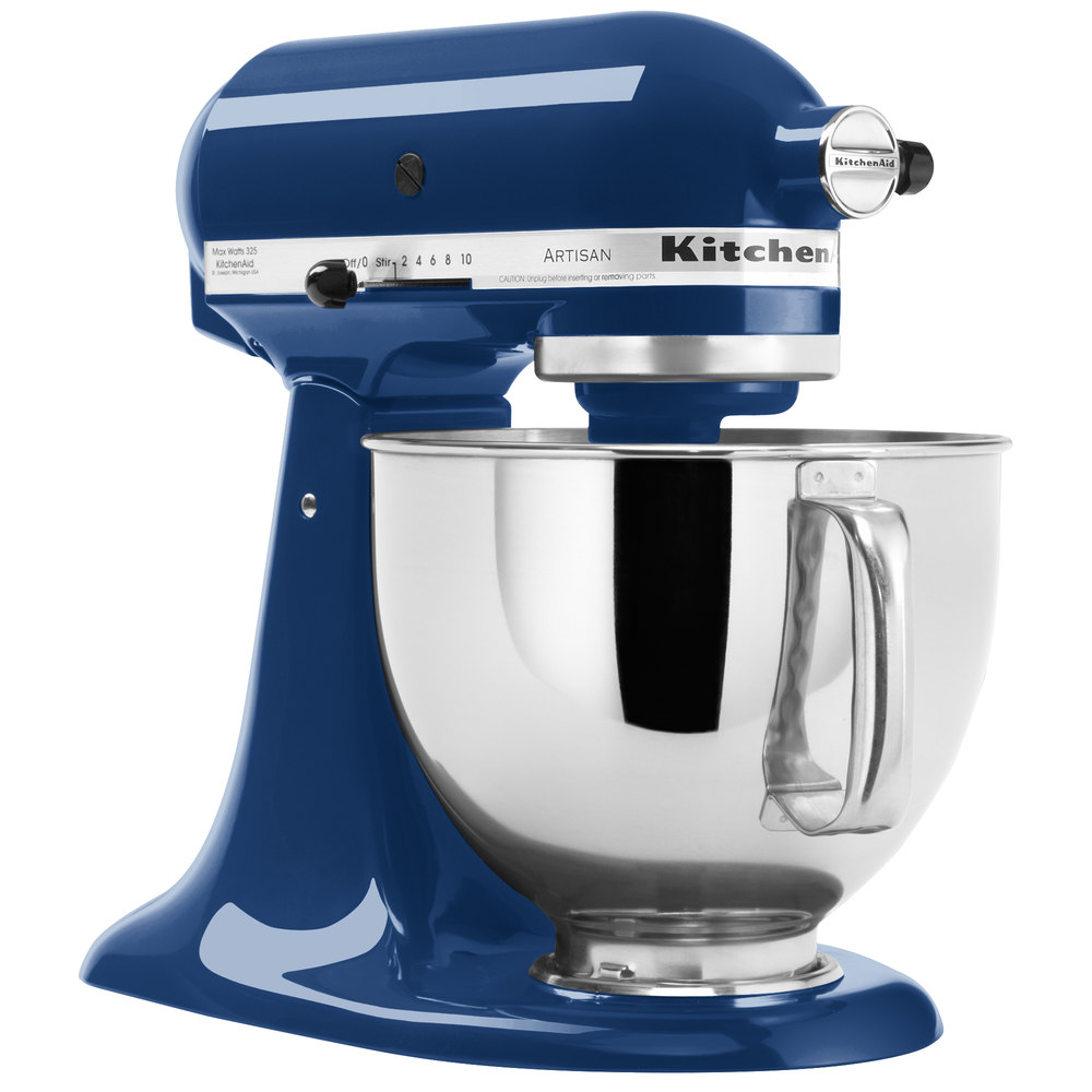 Kitchenaid Ksm150psbw Blue Willow Series 5 Qt Countertop Mixer Main Picture Image Preview