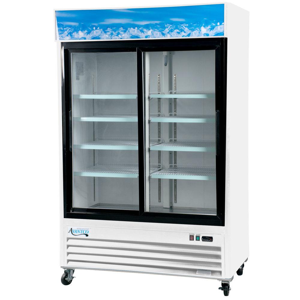 Avantco gds 47 hc 53 1 8 white sliding glass door for 5 ft sliding glass door
