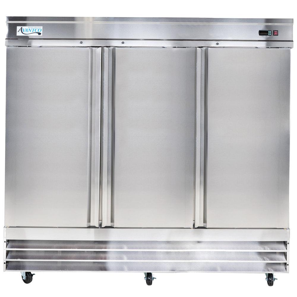 Reach In Freezers | Commercial Upright Freezers | WebstaurantStore