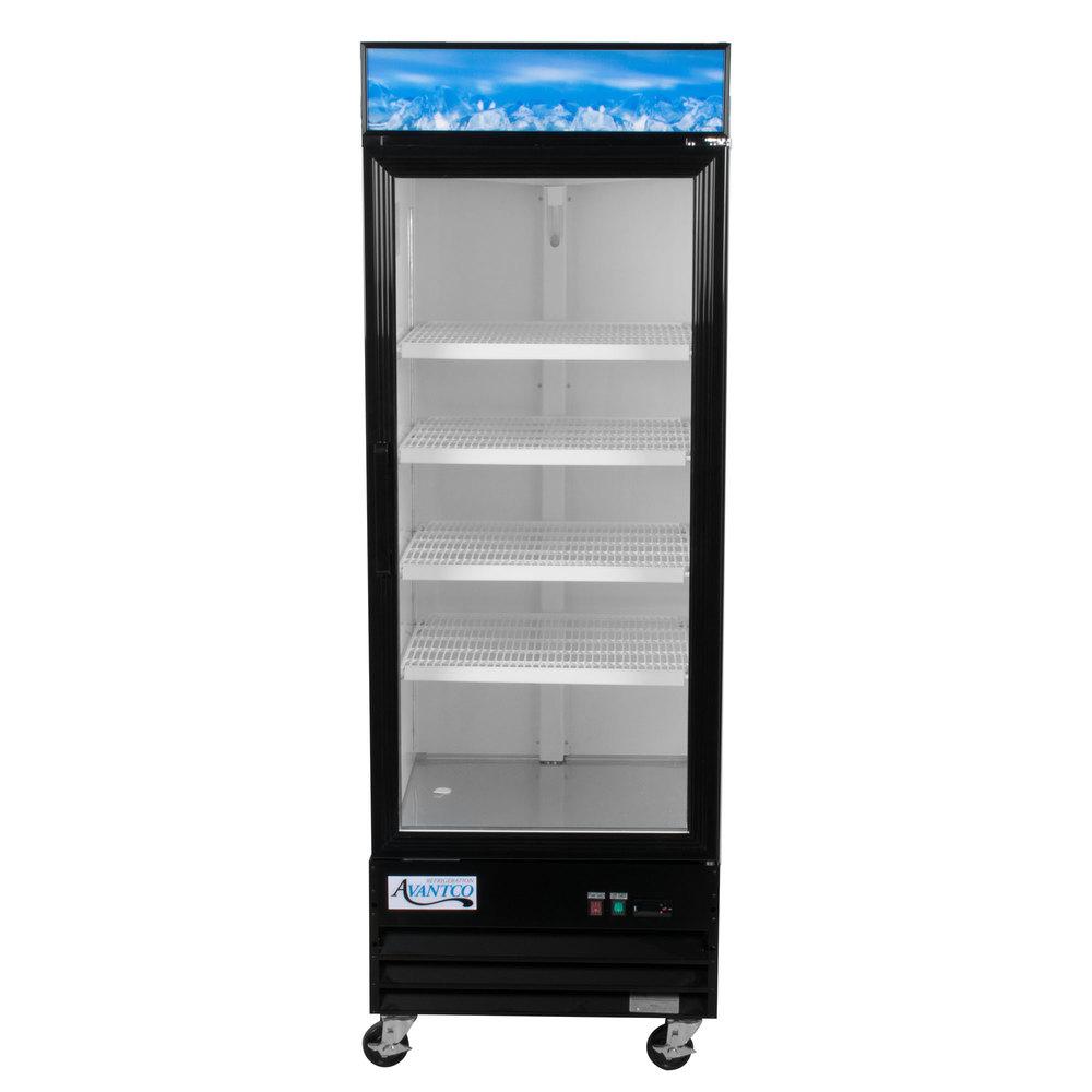 Glass Door Refrigerators Merchandiser Coolers Webstaurantstore
