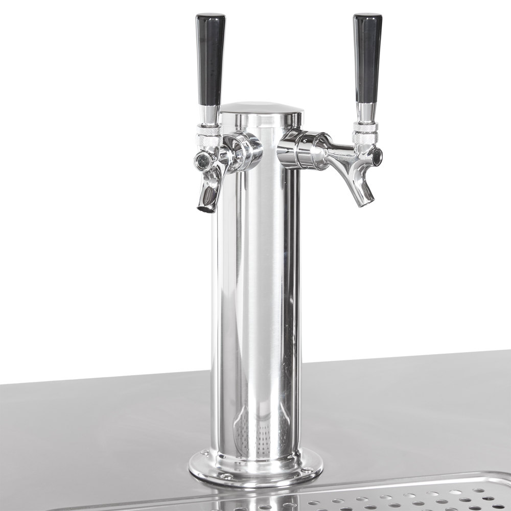 Avantco Udd 72 Hc Kegerator Beer Dispenser With 2 Double