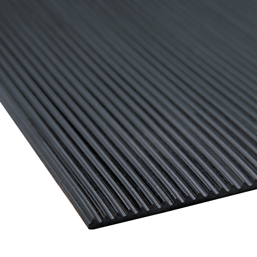 Cactus Mat 1000R C6 Deep Groove 6 Wide Corrugated Black