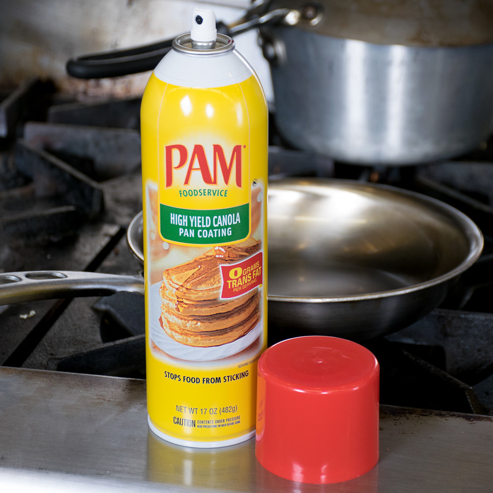 PAM 17 oz. High Yield Canola Release Spray