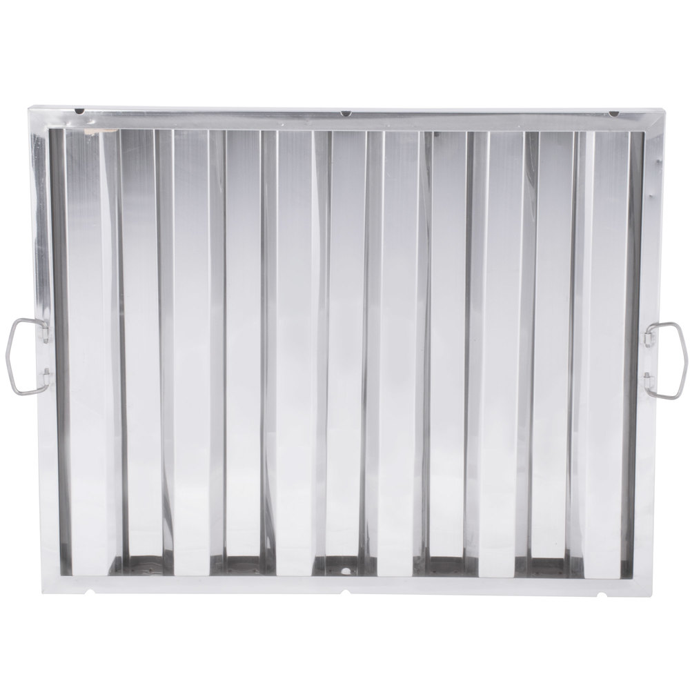 Regency 20 inch x 25 inch x 2 inch Stainless Steel Hood Filter