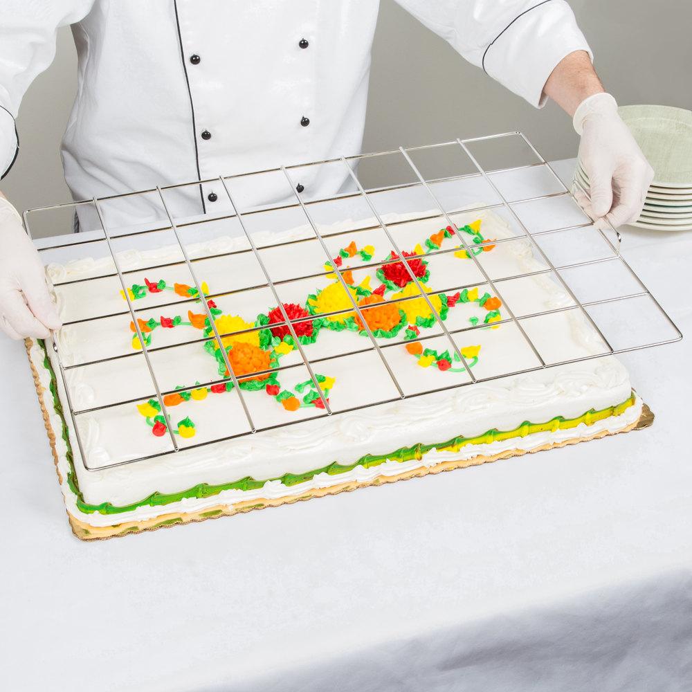 48 Piece Stainless Steel Full Size Sheet Cake Marker