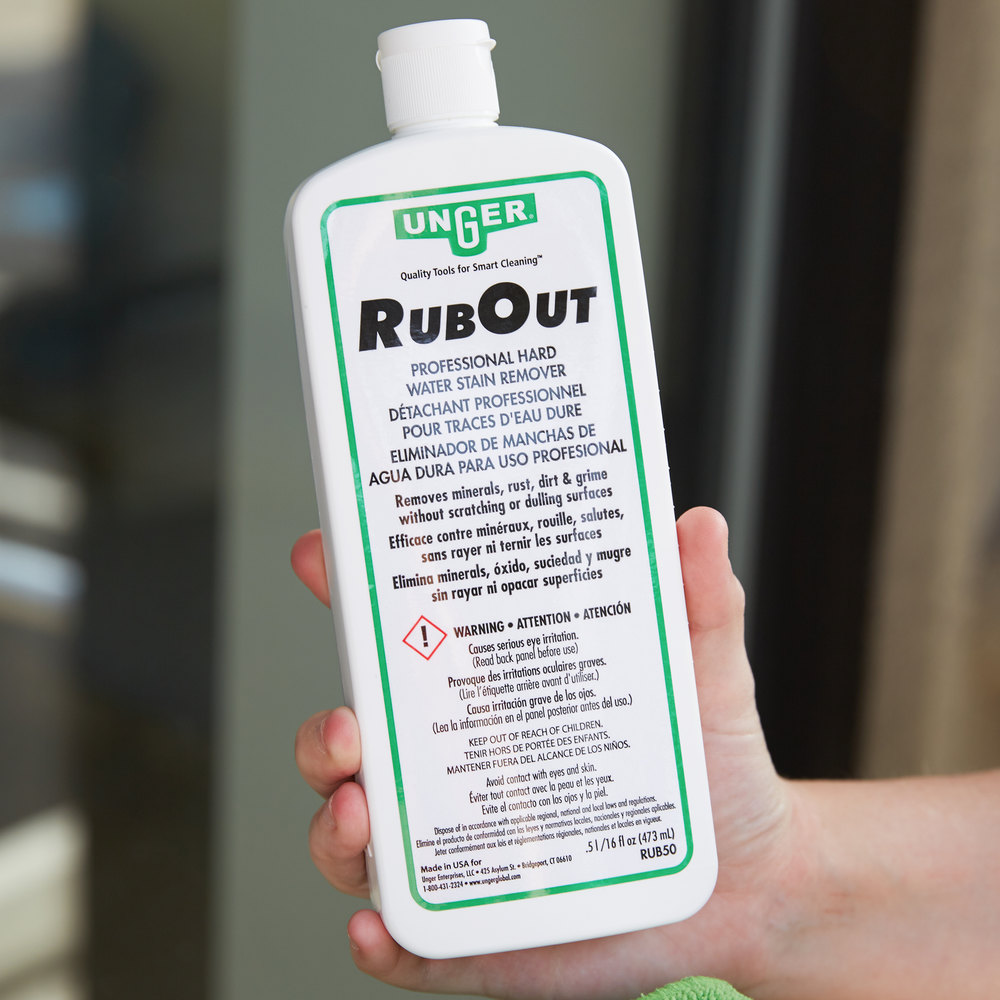 Unger RUB50 1 pt. / 16 oz. RubOut Glass Cleaner