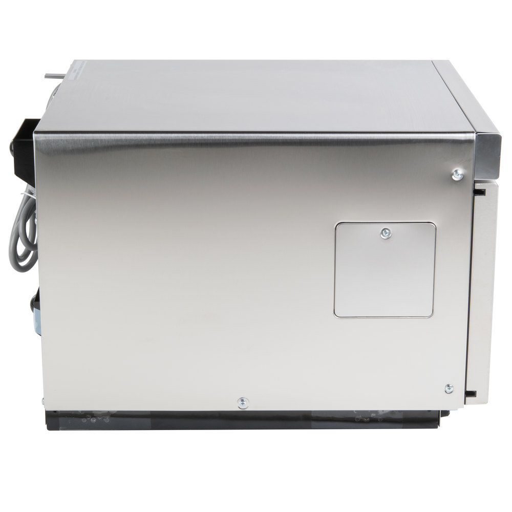 Heavy Duty Microwaves Solwave Space Saver Stainless Steel Heavy Duty Commercial