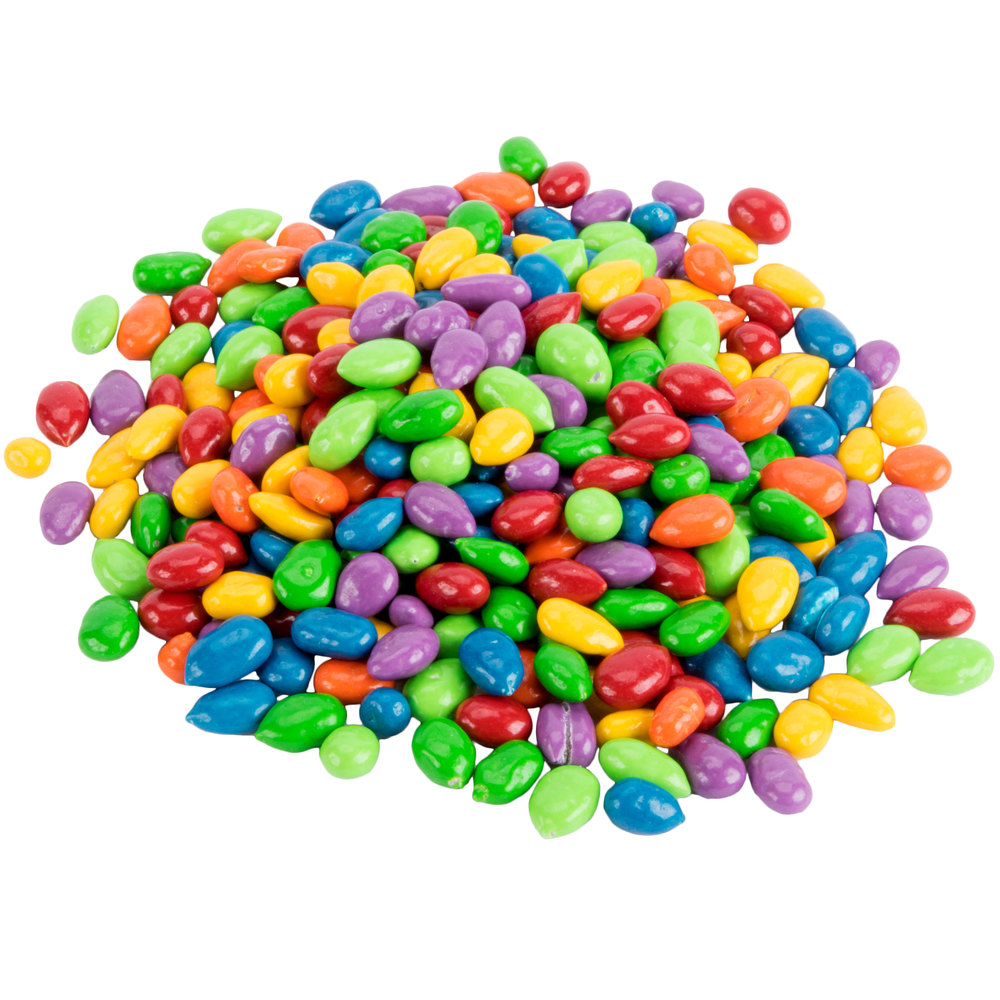 Chocolate Covered Sunflower Seed Candy Gems Topping 5 Lb