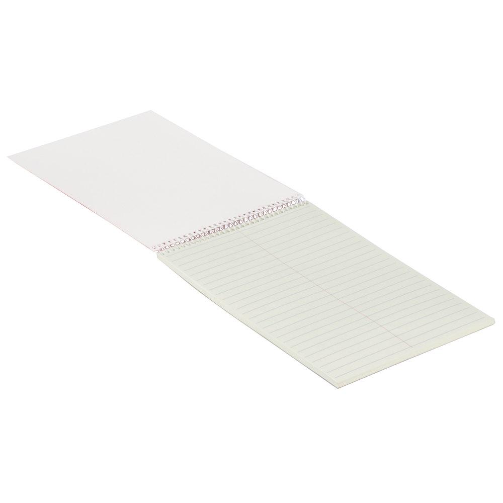 Universal Steno Book, Gregg Rule, 6 x 9, Green, 70 sheet/Pad