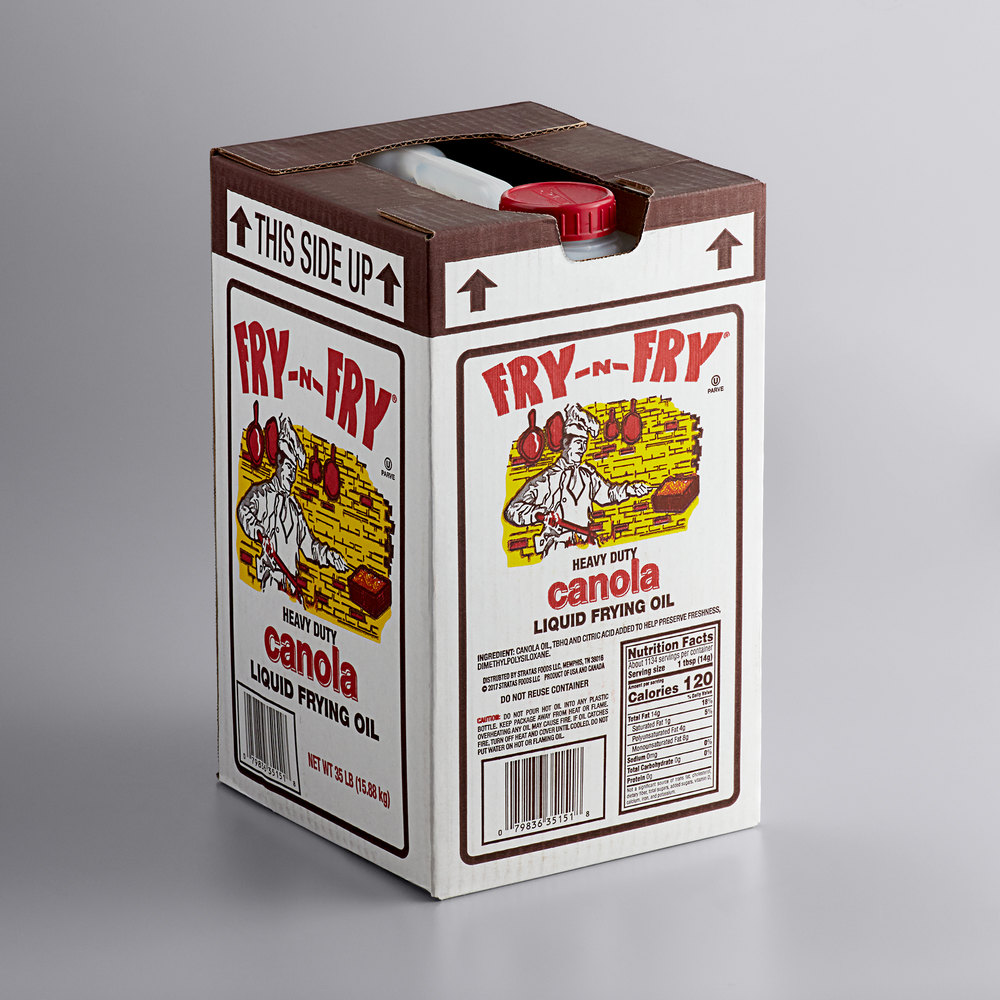 Boxed Admiration canola frying oil