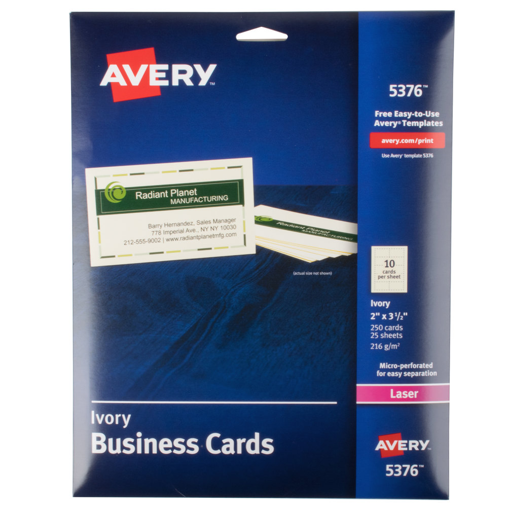 Business Card Paper | Blank Business Cards