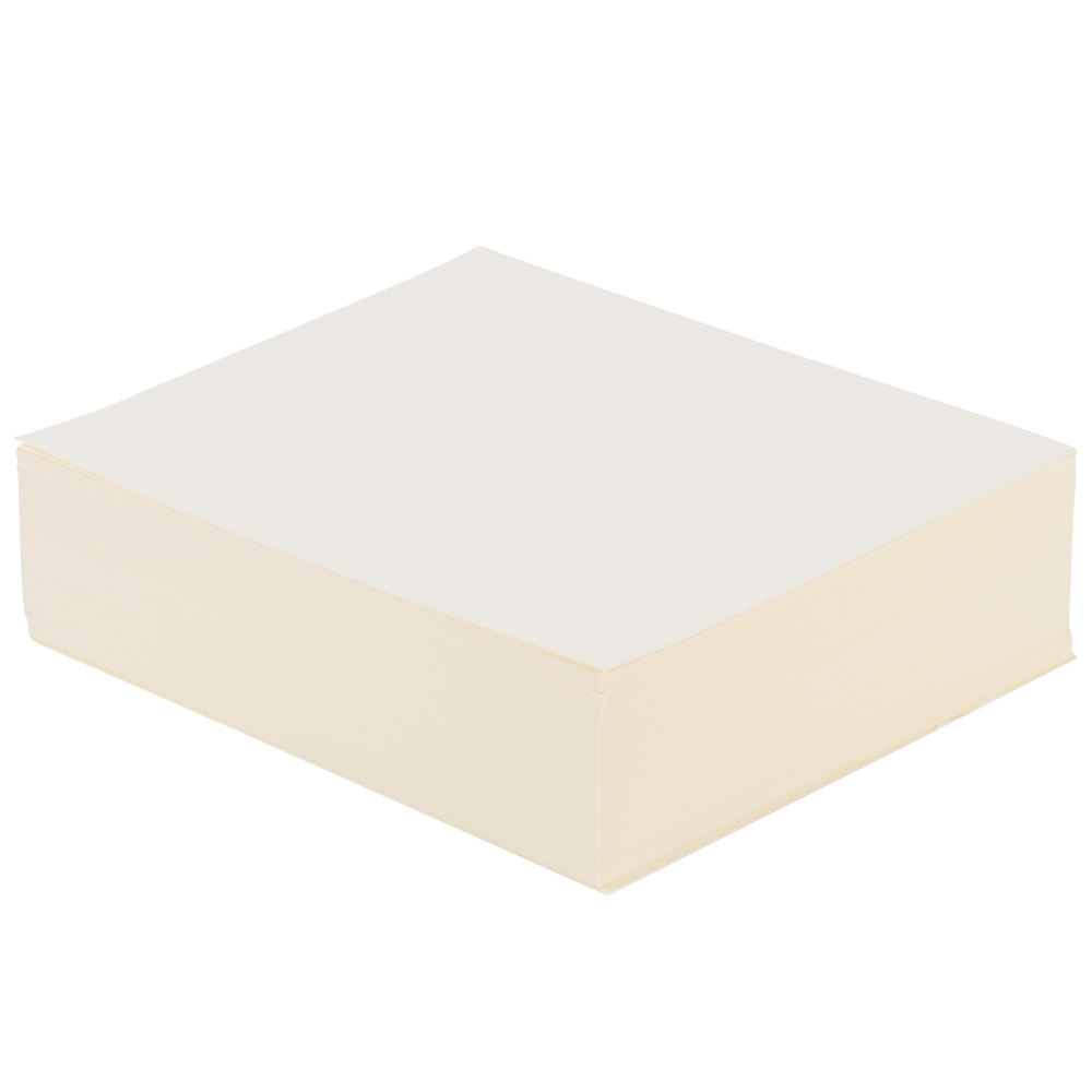 ivory paper Tough reinforced paper to keep important pages secured in the binder pages lay perfectly flat with no thickness buildup to prevent misfeeds and jams.