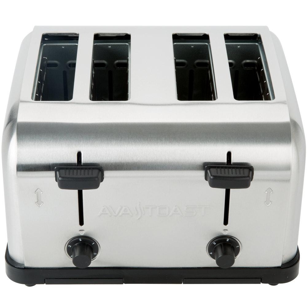 Avatoast medium-duty 4-slice commercial toaster