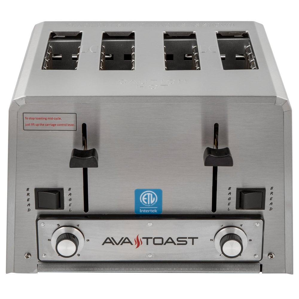 Avatoast THD1800 heavy-duty 4-slice commercial toaster