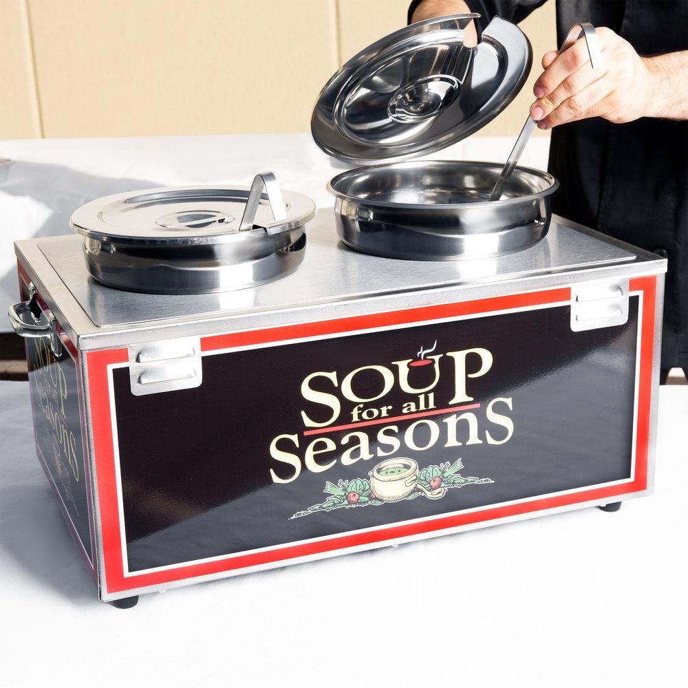Restaurant Soup Warmer ~ Nemco d p double well qt soup warmer single