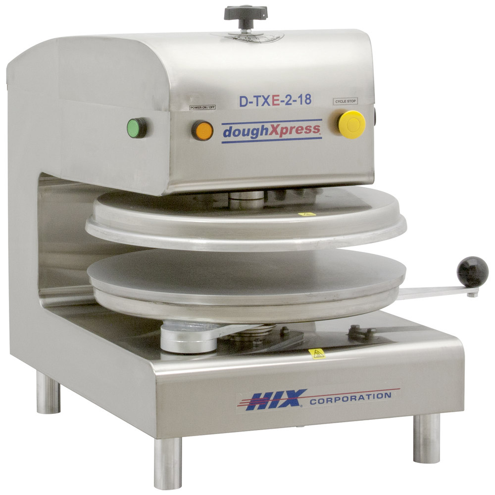 DoughXpress D-TXE-2-18 Dual Heat Round Electromechanical
