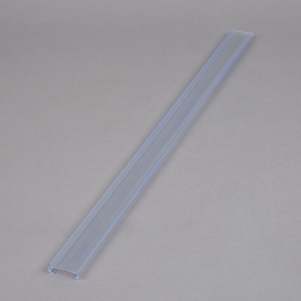 Clear Plastic Label Holder 25 Quot X 1 1 4 Quot