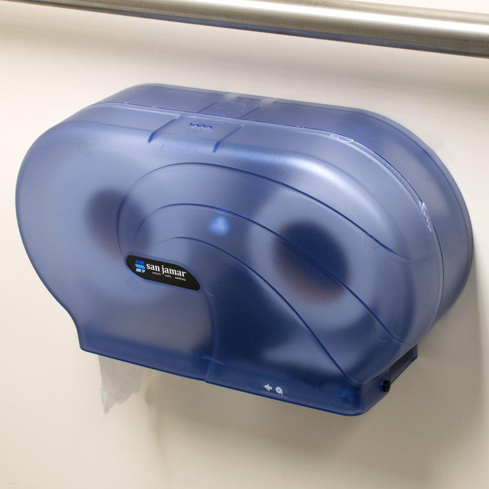 San Jamar R4090tbl Twin Oceans 9 Quot Double Roll Jumbo Toilet