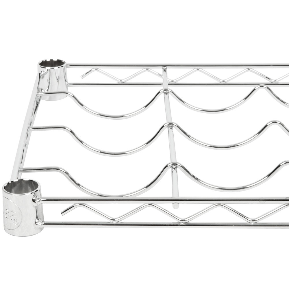 Regency 14 inch x 48 inch Wire Wine Shelf