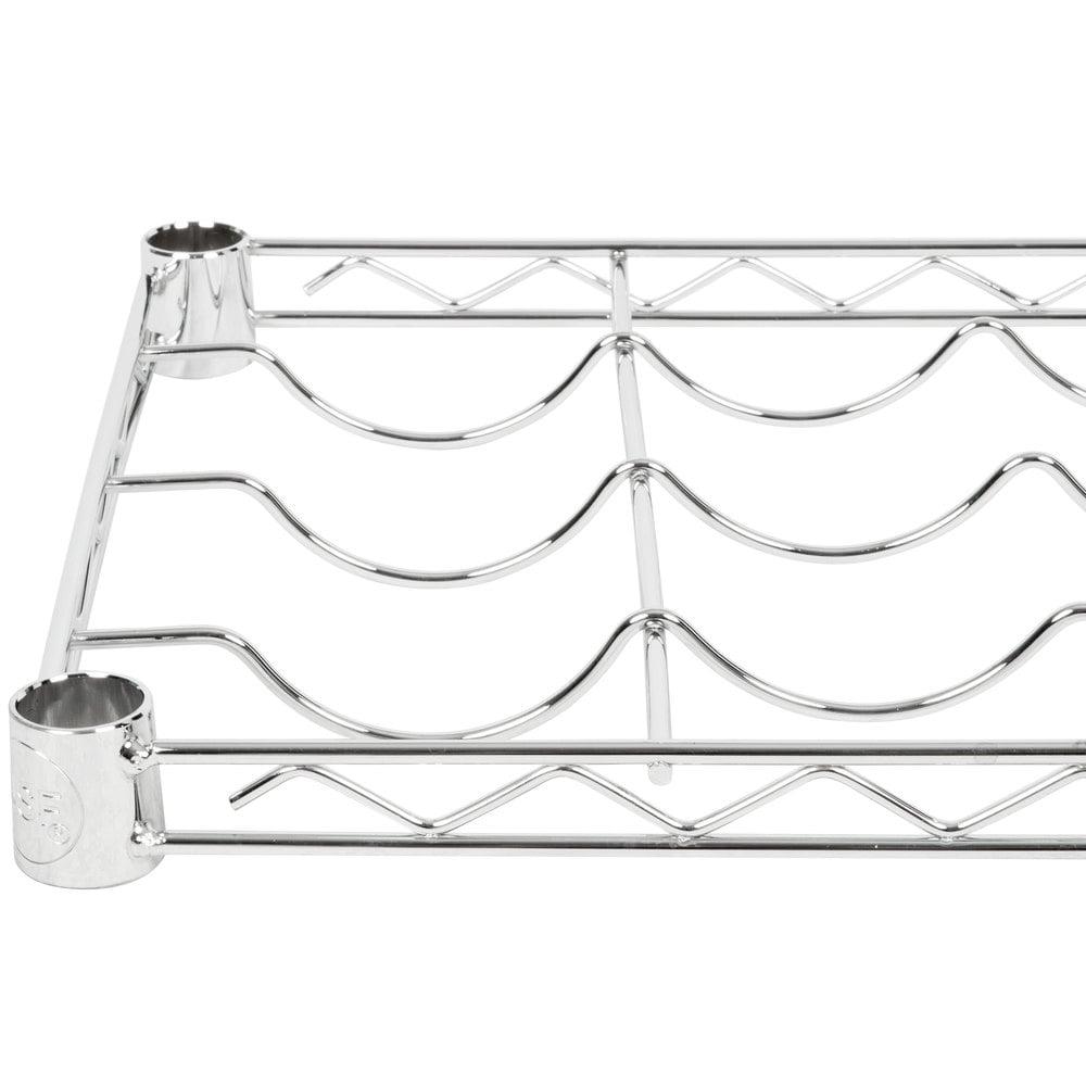 wire wine rack. Regency 14 Inch X 48 Wire Wine Shelf Rack
