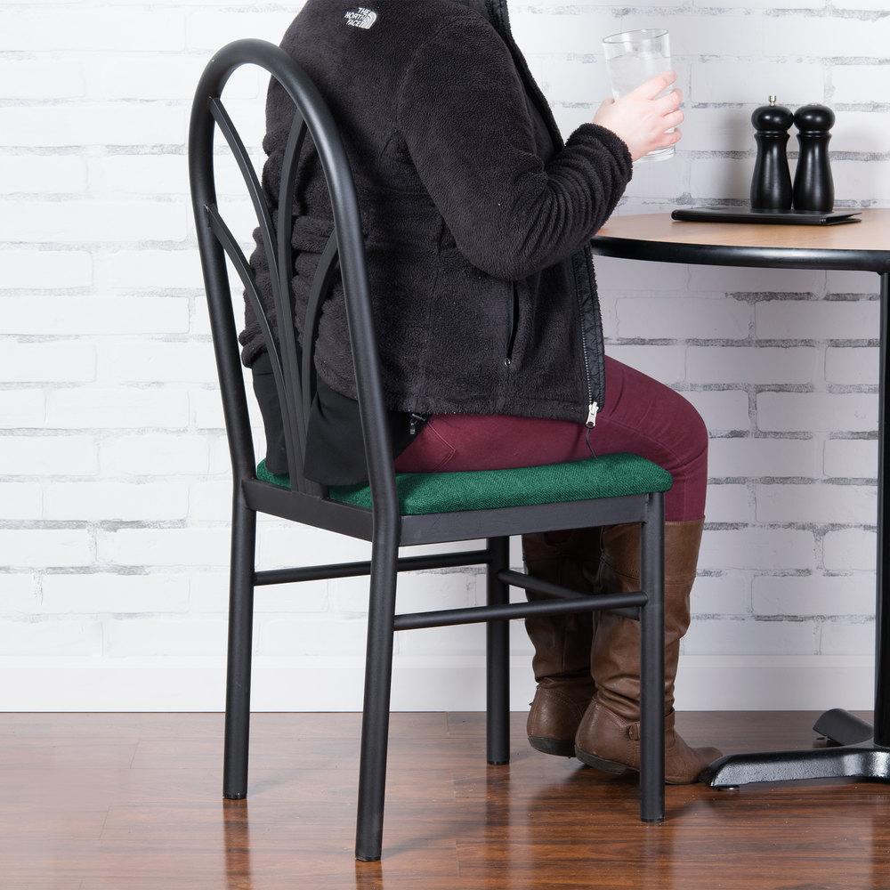 lancaster table u0026 seating green 4 spoke restaurant dining room