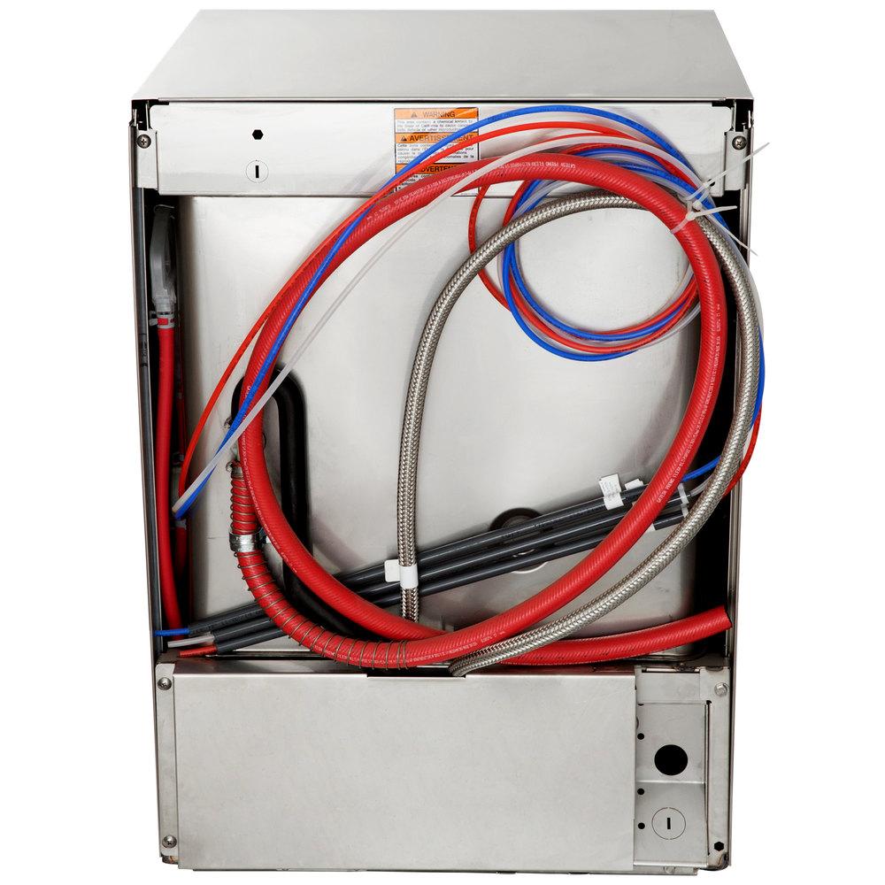 Hobart LXeC-3 Undercounter Dishwasher - Chemical Sanitizing, 120V on