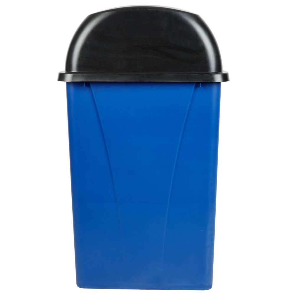 Carlisle Centurian 21 Gallon Blue Half Round Wallhugger