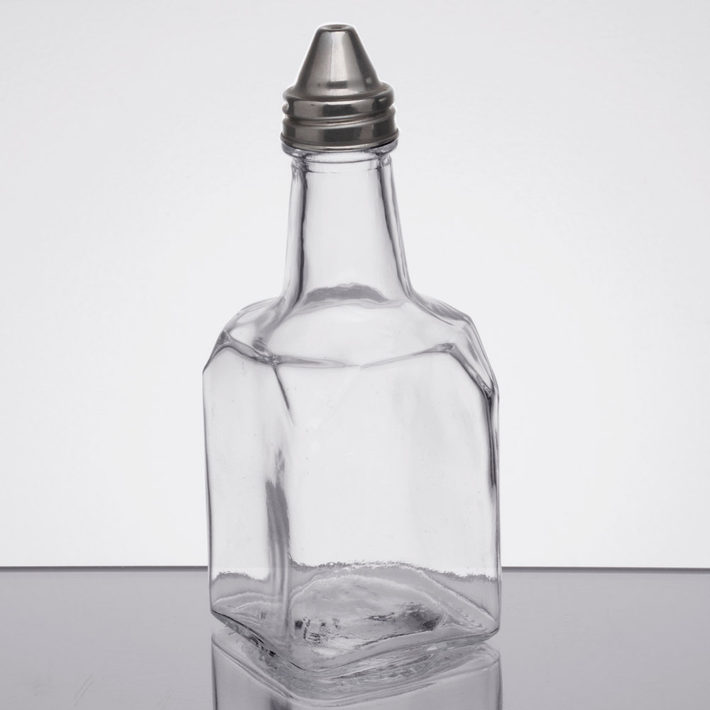 choice  oz oil and vinegar cruet with pourer - oil and vinegar cruet with pourer main picture · image preview