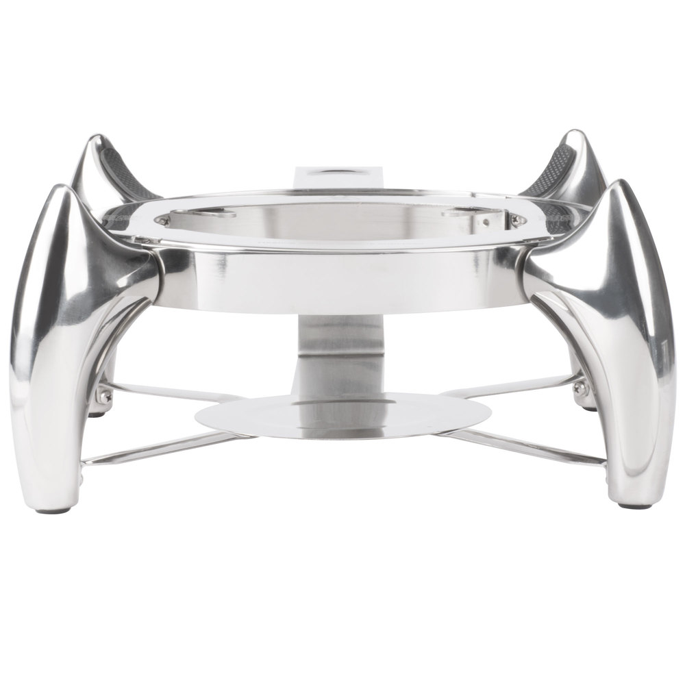 Choice Supreme 6 Qt Round Induction Chafer Stand With