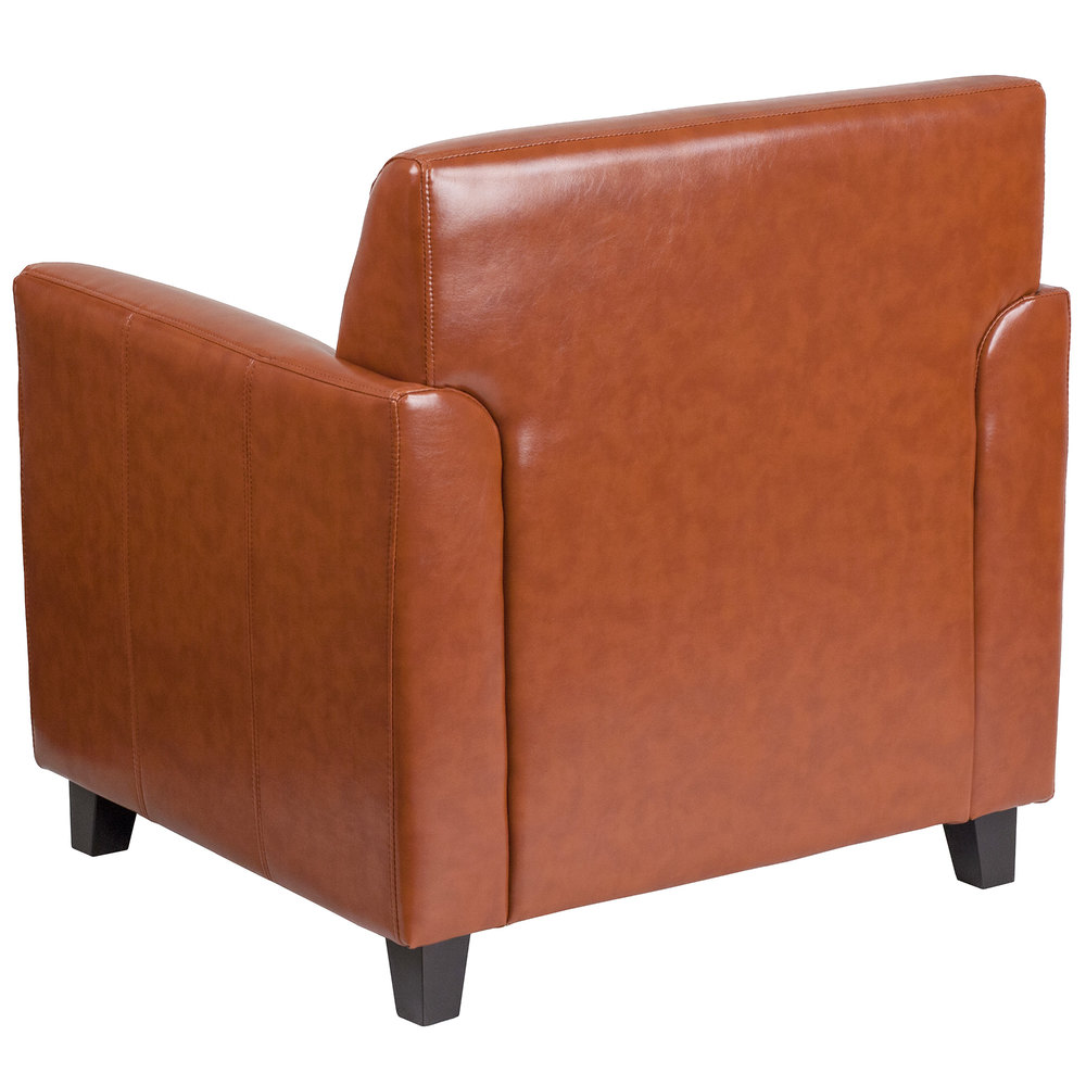 Diplomat Cognac Leather Chair Main Picture Image Preview