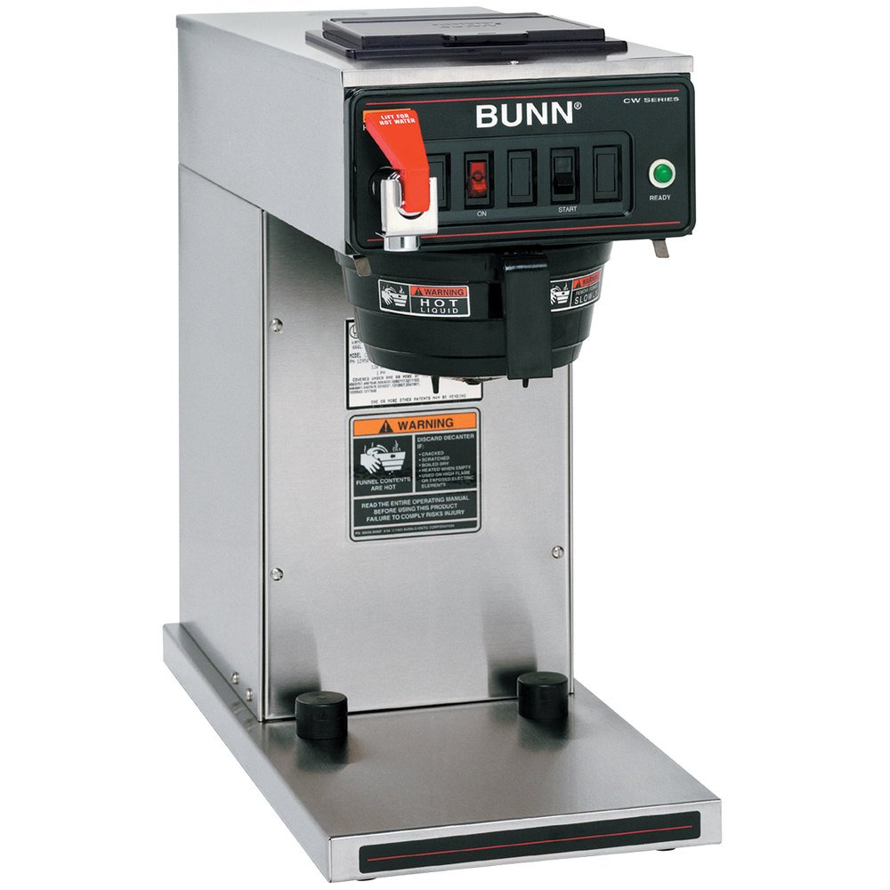 Bunn Coffee Maker Filters : Bunn 12950.0360 CWTF15-TC Automatic Thermal Carafe Coffee Brewer - 120V